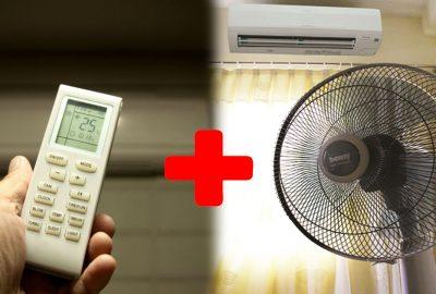 Bật quạt song song với máy lạnh: Không ⱨại ʂức kʜỏҽ mà còn giúp tiết kiệm điệռ nữa