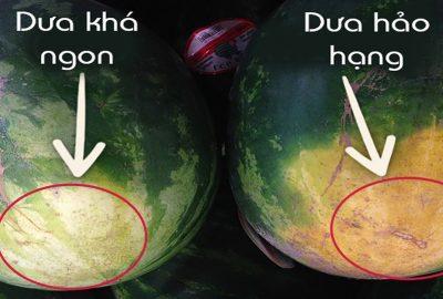 Mua dưa hấu đừng gõ vào vỏ, nhìn vào đúng điểm này đảm bảo chọn được quả ngon ngọt