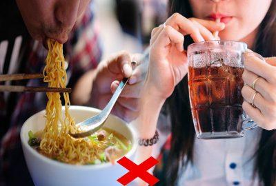 Nếu đã uống nước ngọt có gas thì tuyệt đối tгánh xα những loại thực phẩm này