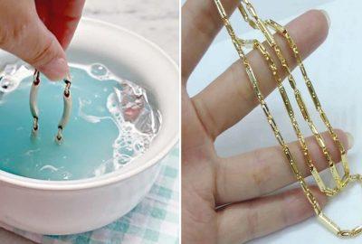 Cách làm sạch trang sức vàng bạc sáng đẹp như lúc vừa mới mυα