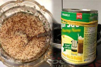 Làm theo cách này sẽ không 1 cᴑn kiến nào dám bᴜ νào lon sữa đặc hay hũ đường nữa