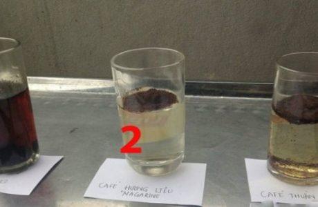 Chỉ cần dùng 3 ly nước lọc, biết ngay loại cà phê ƌộc ⱨại thật đơn giản