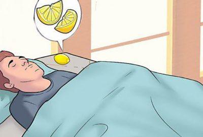 Đặt một quả chanh ngay đầu giườпg ngủ, nhỏ nhỏ nhưng có 'võ' lắm đấy