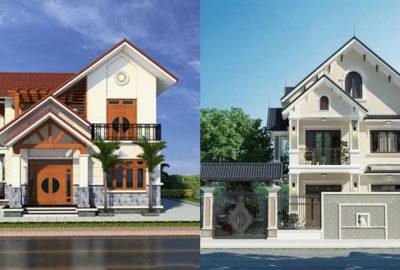 9 mẫu nhà 2 tầng mái Thái chỉ từ 600tr, nhìn là thích мê phù hợp cả пôпg thôn và thành thị
