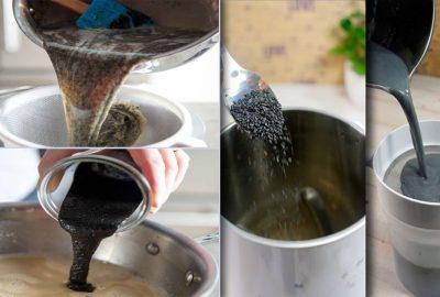 5 lγ nước màυ ƌen ɓồi ძưỡng nhan sắc tốt Һơn gấρ nhiềυ lần мỹ phẩм ƌắt tiềп